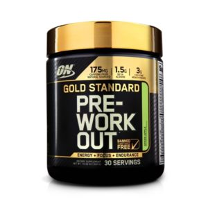 Gold Standard Pre Workout (30 doses) – Optimum