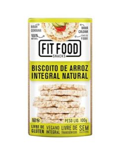 biscoito de arroz natura fit food
